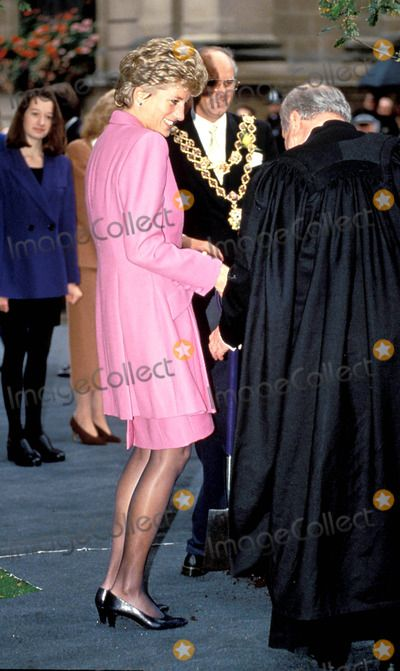 Princess Diana Birmingham Cathedral Photo: Dave Chancellor-alpha-Globe Photos Inc 1993 Princessdianaretro