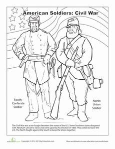 Worksheet Civil War Map Worksheet civil wars coloring pages and worksheets on pinterest war page worksheet