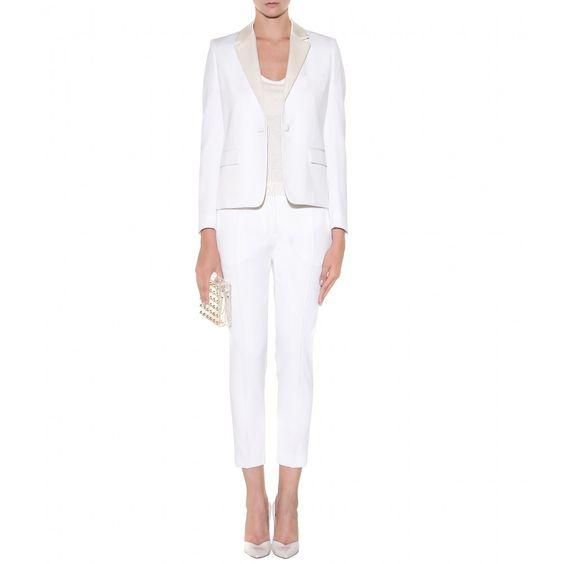 mytheresa.com - Wollblazer - Blazer - Jacken - Kleidung - Victoria Beckham - Luxury Fashion for Women / Designer clothing, shoes, bags