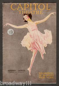 """Capitol Theatre -- The Demi-tasse revue (1919) the hit song """"Swanee"""" was picked up for Al Jolson's SINBAD."""