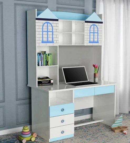 Enhance The Look Of Your Kids Room With Castle Study Table For