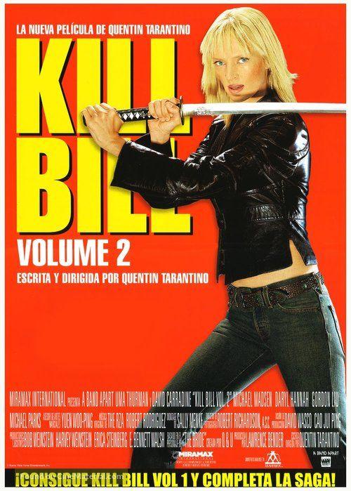 Kill Bill Vol 2 Kill Bill Volume 2 2004 Spanish Movie Poster Consigue Kill Bill Vol 1 Y Completa Kill Bill Full Movies Online Free Full Movies Online