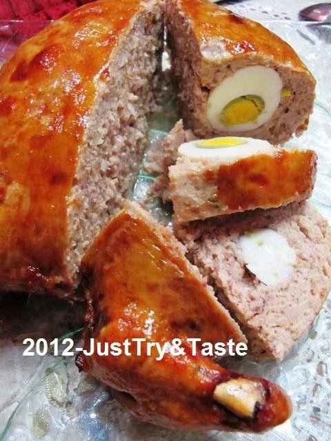 Just Try & Taste: Yuk Membuat Ayam Kodok!   stuffed chicken recipe