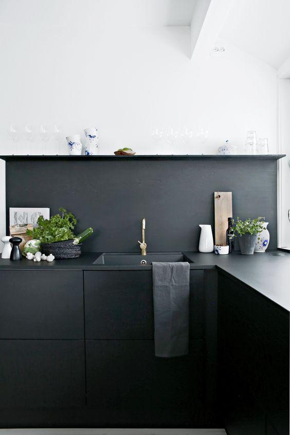 Cozinha negra