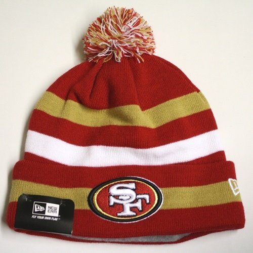Alyssa's new 49er beanie!   Amazon.com: NFL San Francisco 49ers Sport Knit Hat: Sports & Outdoors