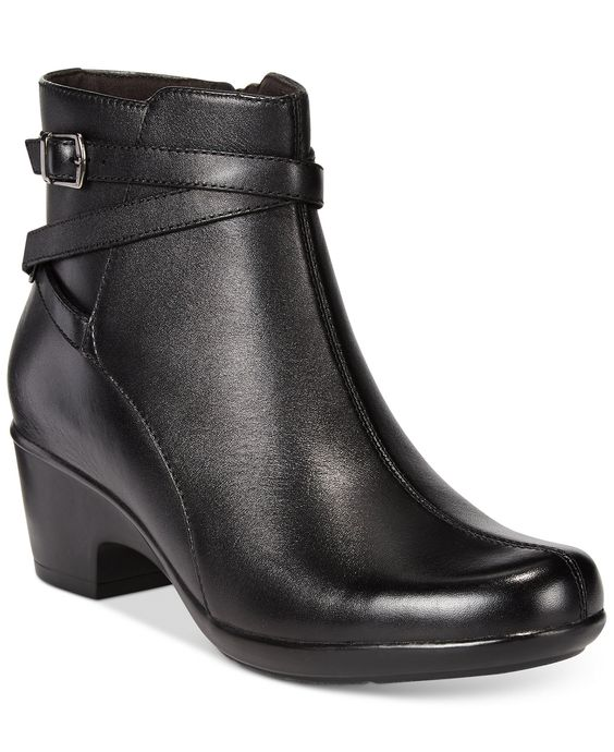 Clarks Collection Women's Malia Meara Ankle Booties - Boots - Shoes - Macy's