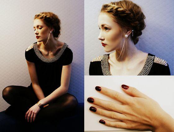 braids hair. Simplicity rocks (by Petra Karlsson) http://lookbook.nu/look/2993299-simplicity-rocks