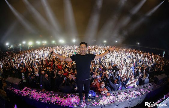 Sunburn Arena with DJ Nucleya on 25th November 2018 at VGP Golden Resort