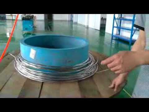 Customized Small Diameter Coiled Pipe Bright Annealing Machine