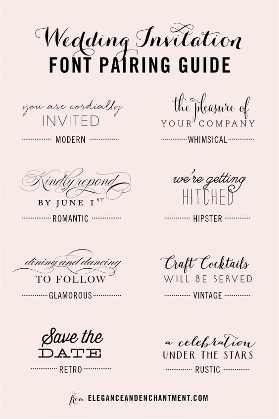 A new collection of pletely free fonts for your wedding