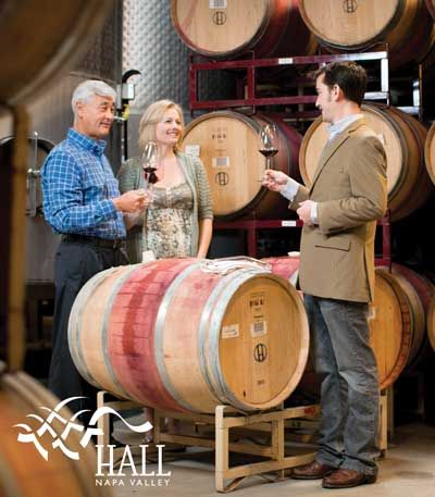 HALL Winery - for the red wine lover and Cabernet connoisseur, Hall is a necessary stop with great tours and pairing options. Just be sure to reserve ahead of time!