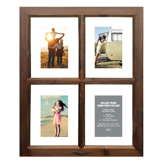 4 Opening Window Collage Frame By Studio Decor Michaels Collage Frames Frame Studio Decor
