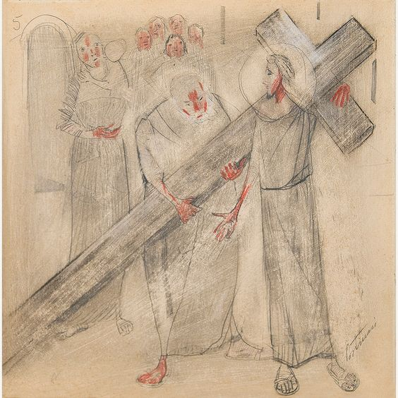 Obra de Portinari no leilão 28 de Junho de 2012 da Bolsa de Arte