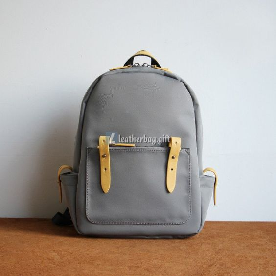leather bag backpack backpack school personalized leather backpack
