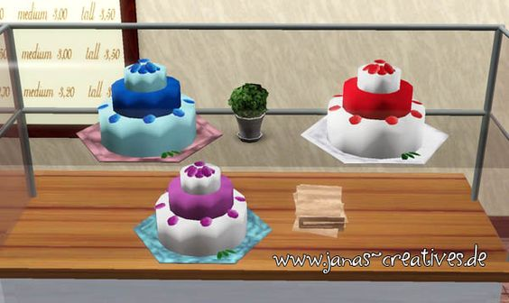 ...  Sims 3 objects and clutter  Pinterest  Gâteaux, Mariage et Sims