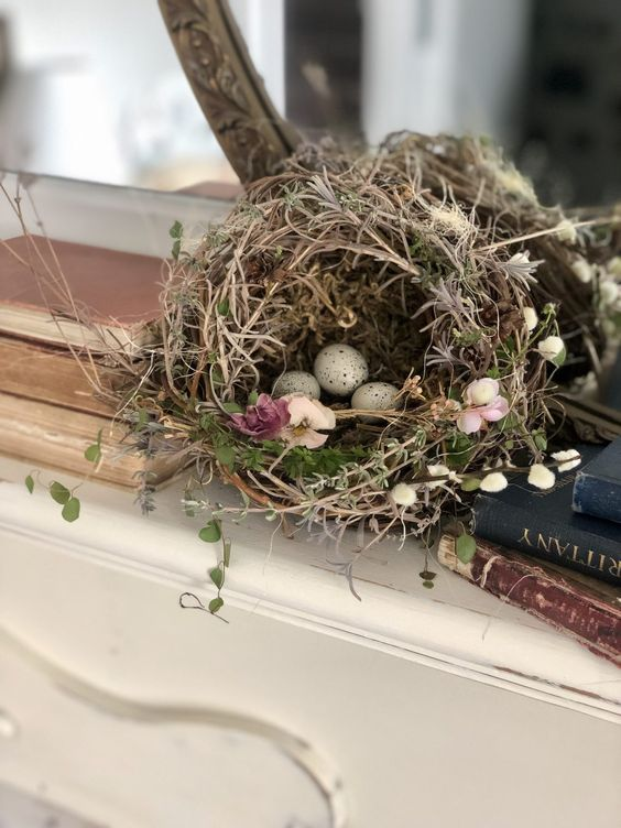 Foraging Happiness ~ DIY Bird Nest ~ LeCultivateur
