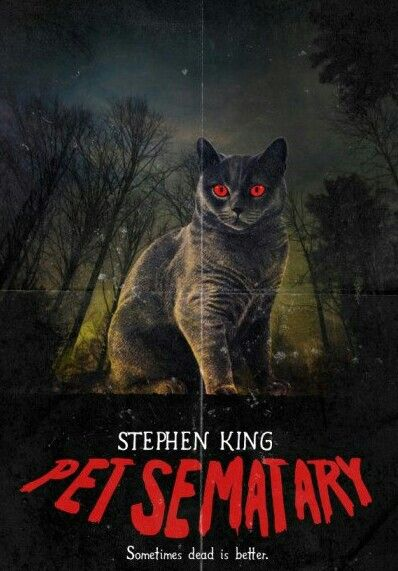 Pet Sematary Stephen King Movies Horror Book Covers Horror Posters