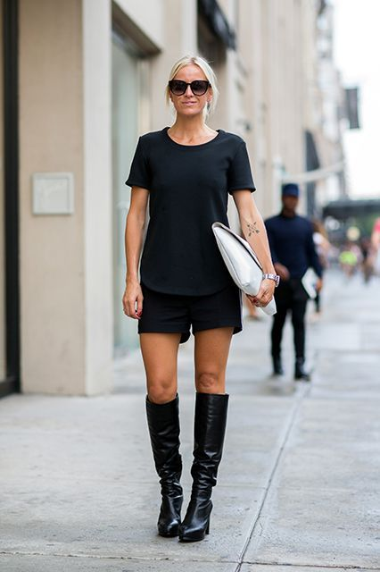 How To Wear All Black In The Summer Without Looking Like ...