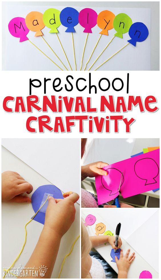Preschool: Carnival - Mrs. Plemons' Kindergarten