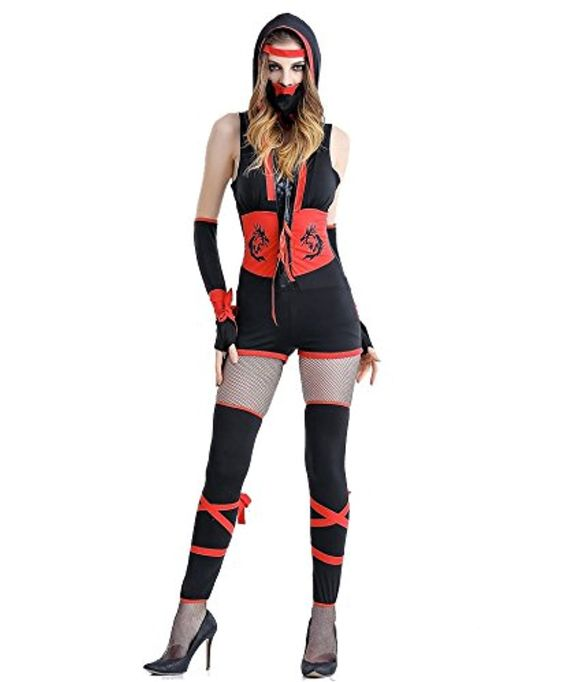 buy weimisi womens plus size ninja assassin halloween costume m shop top fashion brands women at free delivery and returns possible on eligible - Free Halloween Costume Catalogs