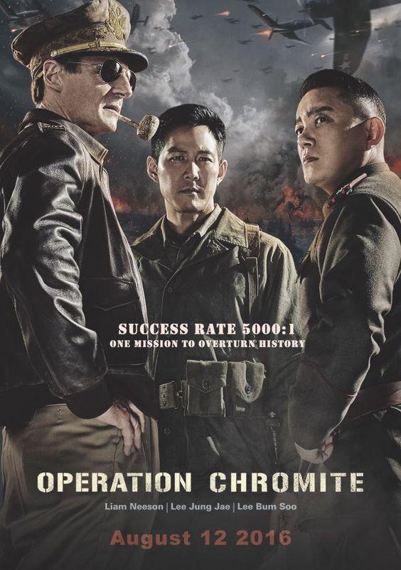 "[New U.S. Trailer] Liam Neeson stars in ""Operation Chromite"" opening in North America August 12 @ HanCinema :: The Korean…"