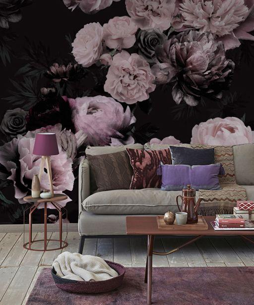 Tapeta W Kwiaty Peonie Flowers Wallpaper Mural Wallpaper Wallpaper Home Decor