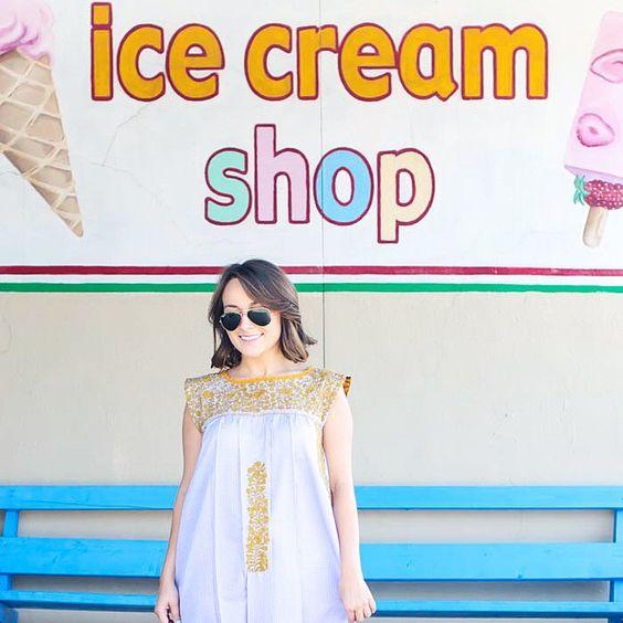 A quick ice cream beak with @mi_golondrina today  by notmycircusblog
