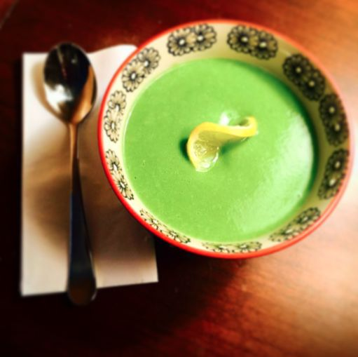 Spinach Basil Soup