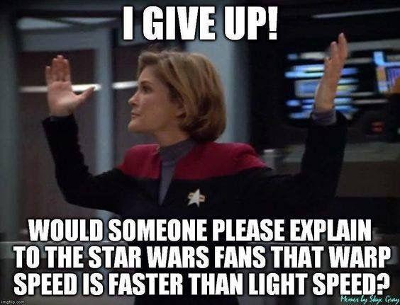 Star Trek Vs Star Wars Star Trek Funny Star Trek Quotes Star Trek Voyager Funny