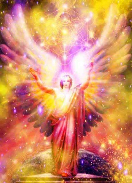 ∆ Archangel Metatron...he is Enoch, ancestor of Noah, who transformed into an angel  --Enoch walked with God; then he was no more, because God took him away  --Genesis 5:24: