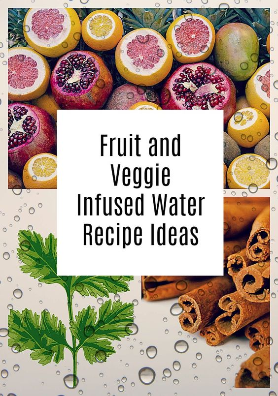 Fruit and vegetable infused water recipe ideas for weight loss