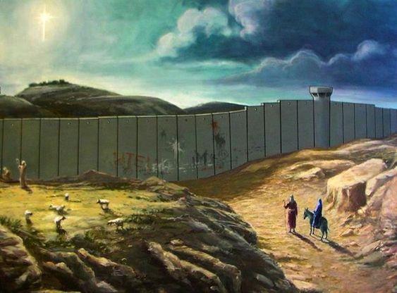 Cartão Natalino by Banksy
