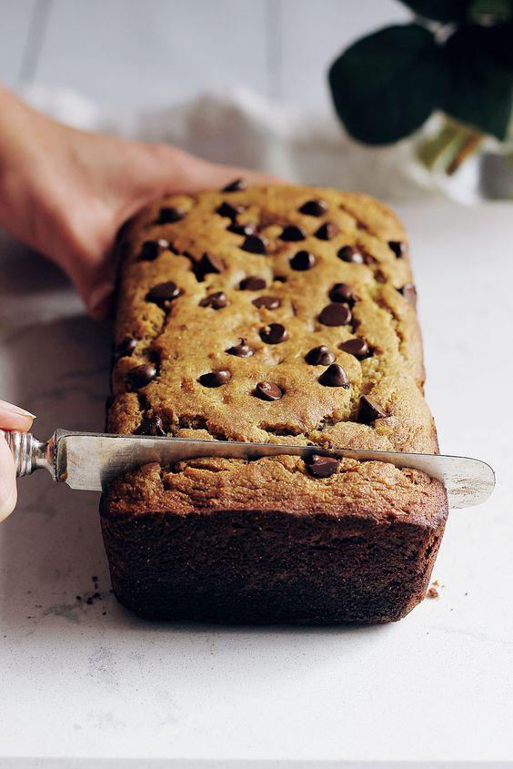 Chickpea Flour Banana Bread (gluten free!) | Receta | Beautiful ...