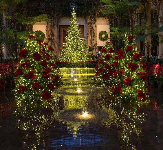 Longwood Gardens Exhibition Hall Christmas 2015