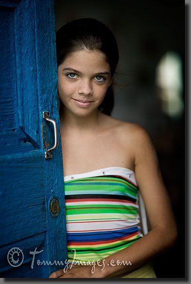 A pretty Cuban girl in Trinidad