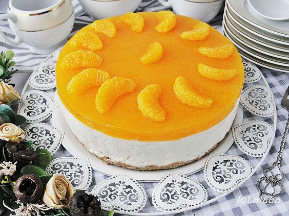 Ala piecze i gotuje: Sernik na zimno z mandarynkami