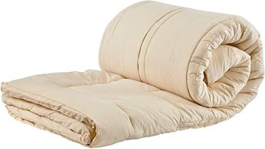 Sleep Beyond 54 By 76 Inch Organic Merino Wool Mattress Topper Full Ivory Wool Mattress Sofa Bed With Storage Mattress Topper