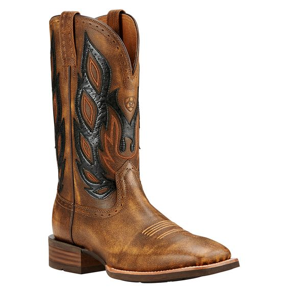 Ariat Mens Nighthawk Cowboy Boots | Be ready for anything day and
