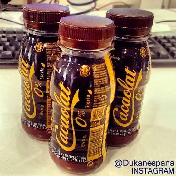 Cacaolat 0, apto para la dieta Dukan desde fase Ataque:  0% grasas, sin azúcar