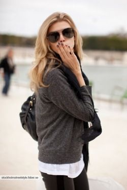 cozy perfection: Fashion Style, Style Inspiration, Street Style, Aviators Rayban, Fashion Inspiration, Gray Nails, Ray Ban, Fall Winter