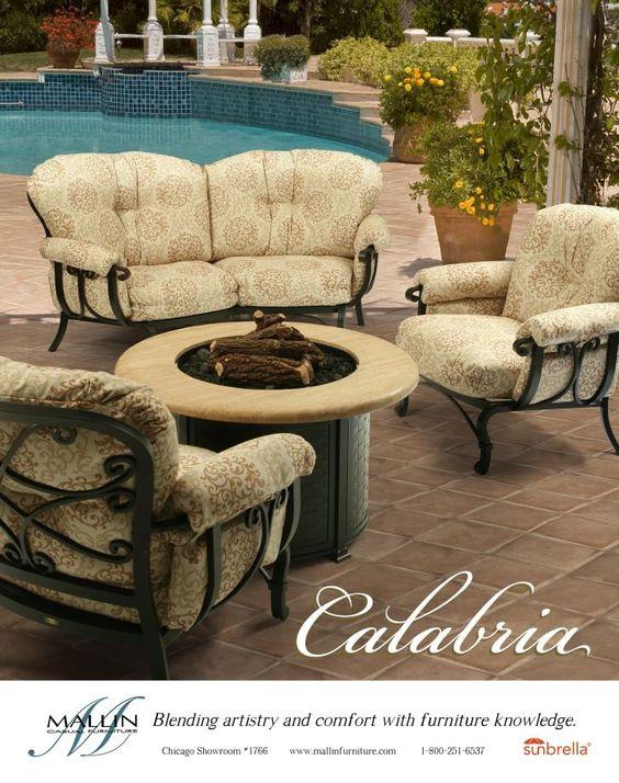 mallin patio furniture mallin calabria deep seating cuddle loveseat