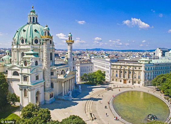 Vienna, Austria - my favourite city so far - beautiful!