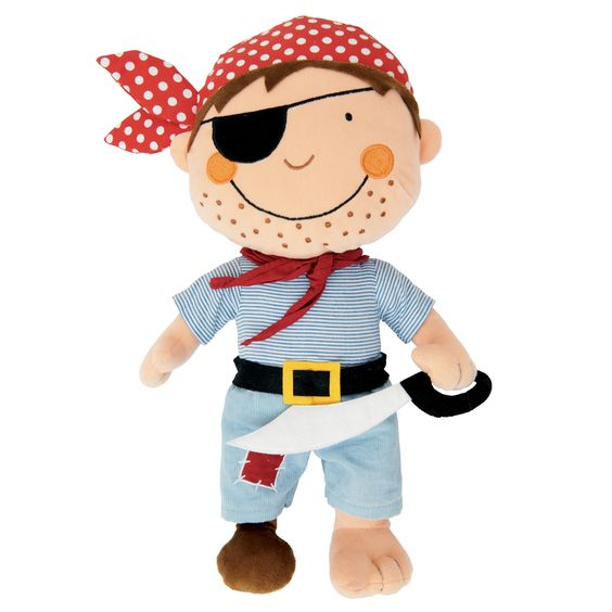 Pirate cuddly toy