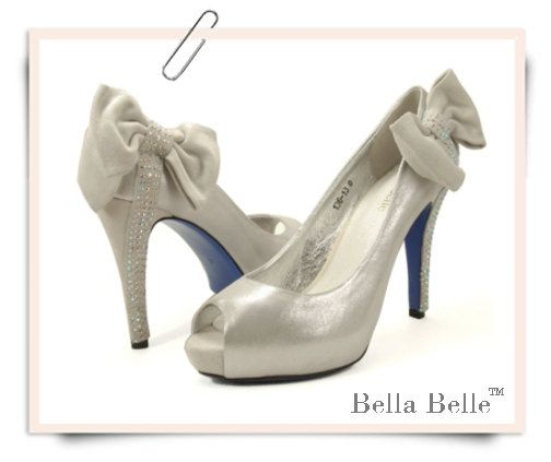 love the shoes.... blue soles for a wedding