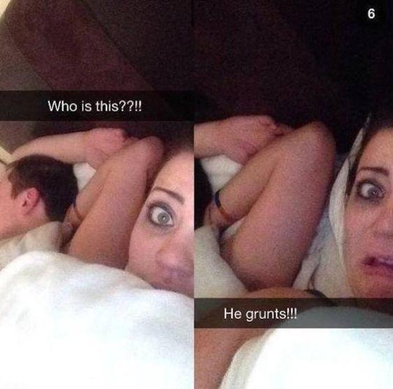 15 απίστευτα αστείες φωτογραφίες το επόμενο πρωί που ξύπνησες με κάποιον