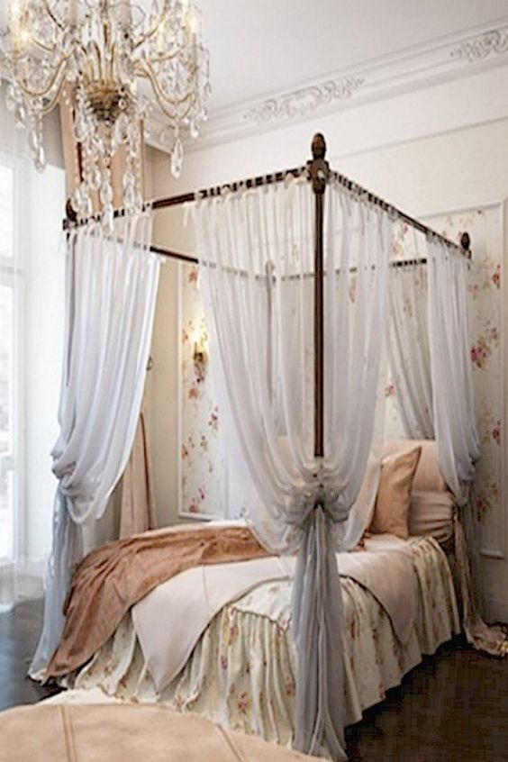 25 glamorous canopy beds for romantic and modern bedroom Beautiful canopy beds