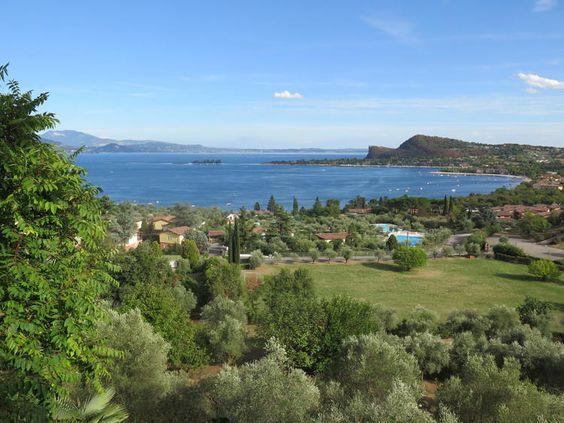 Malen und Entspannen am Gardasee, Italien