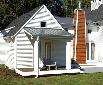 Pinterest the world s catalog of ideas for Shed style porch roof