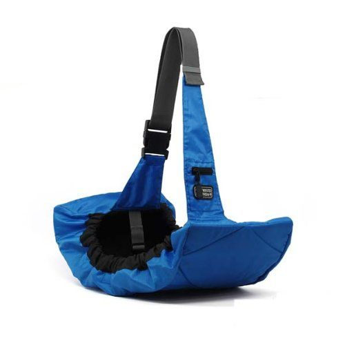 "Pet Sling Blue 25"" x 12"" x 4"" by Kyjen - http://www.thepuppy.org/pet-sling-blue-25-x-12-x-4-by-kyjen/"