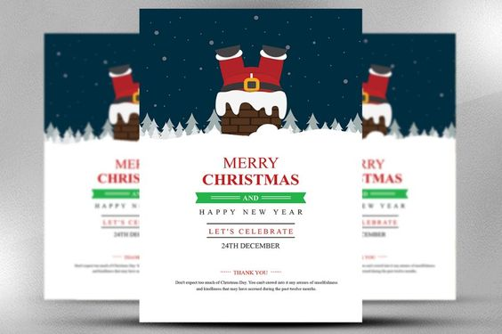 15+ Christmas Flyer Template PSD, Vector EPS and InDesign Format - christmas flyer template